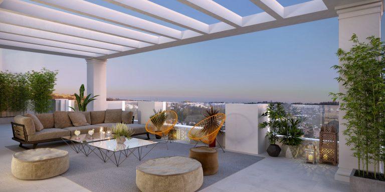 New development in Nueva Andalucia
