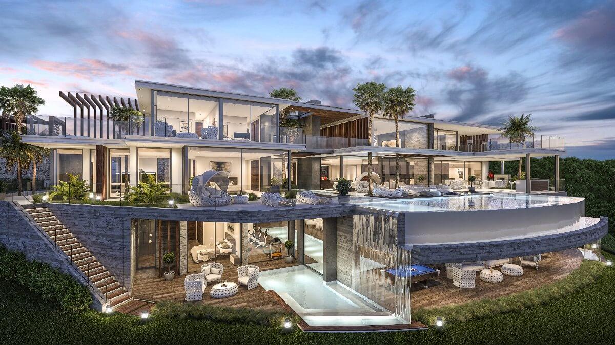 Marbella luxury real estates marbella hills homes - Luxury homes marbella ...
